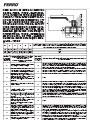 Garanciális feltételek, beszerelési és használati útmutatója - Egyenes karú gáz gömbcsapok - G18 típus